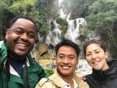 Corey, Phet, and Tamiko