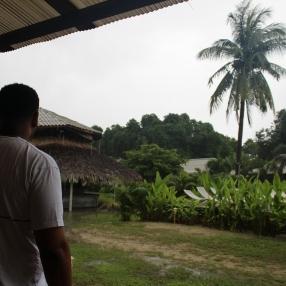 Rain, rain, come again some other day.