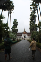 Phet shows us to the Royal Palace, now museum.