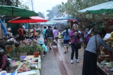 Markets abound in Laos