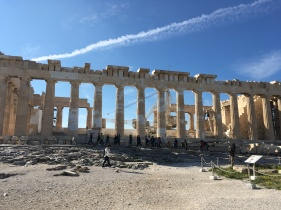 Iconic Doric columns