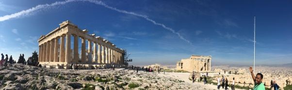 Behold, the Parthenon!