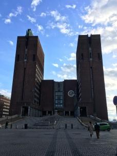 Oslo's city hall