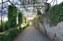 Entrance to the gardens