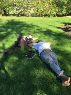 Relaxing at Kew