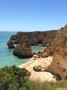The beauty of Praia Da Marinha!!!