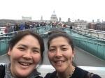 Millennium Bridge selfie