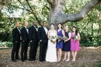 CT287 bridegroom wedding party tree3 facing forward