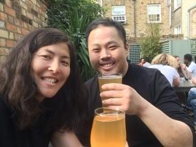 Beer at Earl of Essex- my favorite!