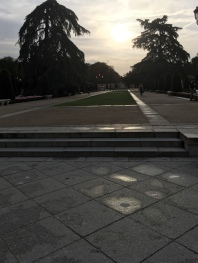 Morning jog in Retiro