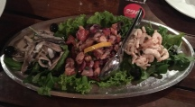 Seafood salad. Yes, please!