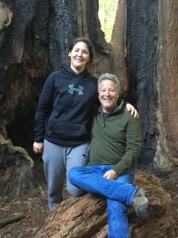 Being in the redwoods makes us so happy. Must be the last name.