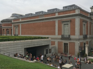 We decided to visit the Prado during free hours, but then ended up being too far away, and too hungry in the evening, to go back