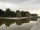 Templo de Debod- apparently a gift from Egypt