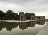 Templo de Debod- apparently a gift from Egypt