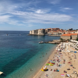 Leaving Dubrovnik for the day, we caught a glimpse of the popular Banje beache