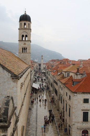 Up above the Stradun