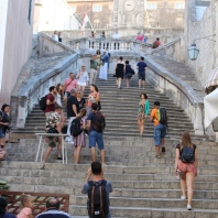 Jesuit Staircase- our trip