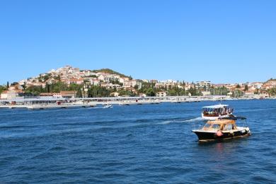 Ferry ride past Kolocep