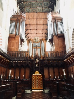 Check out the organ!