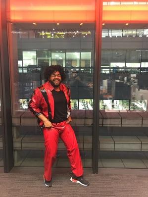 Thriller! MJ resurrected!