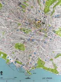 Map of the walking loop.