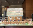 Giant gingerbread house on Christmas day at the Westin