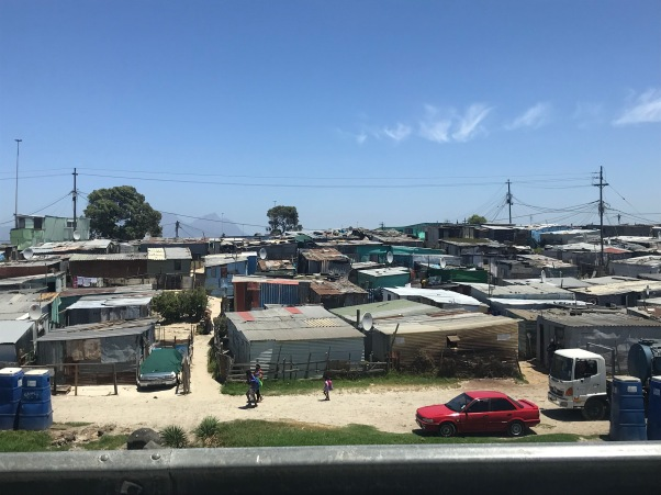 There were more of the iconic corrugated rooftops here than in Langa