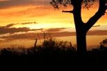 Sunset on day 1
