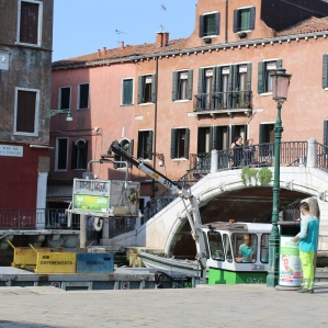Venice garbage service!