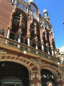 Facade of Palau de la Música Catalana