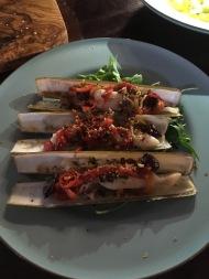 Gordon Ramsey's razor clams