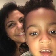 Cole selfie with Mimi