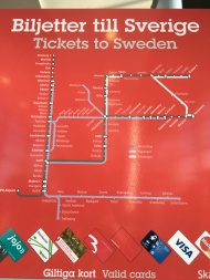 So glad I took this pic of the train map as it saved me when I was making practically blind transfers from bus to train