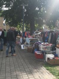 Saturday bric-a-brac flea market