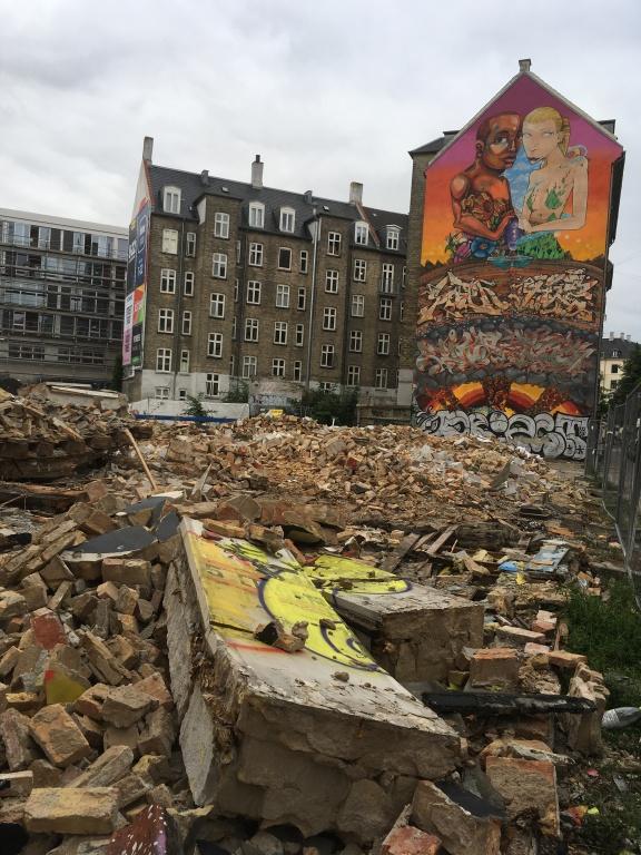 Street art 2- beyond the rubble