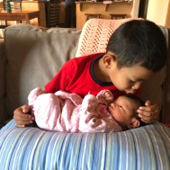Emiko Ramirez with big brother Daisuke