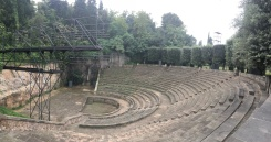 Greek Theater in the gardens