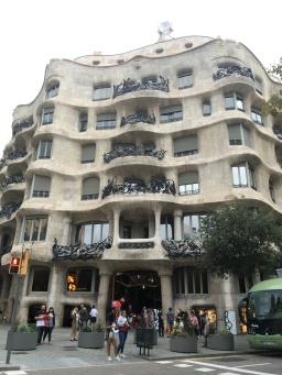 Casa Mila, aka La Pedrera (the stone).