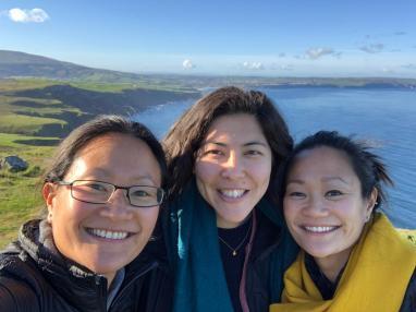Lori, Miko, KK. College homies from Cal.