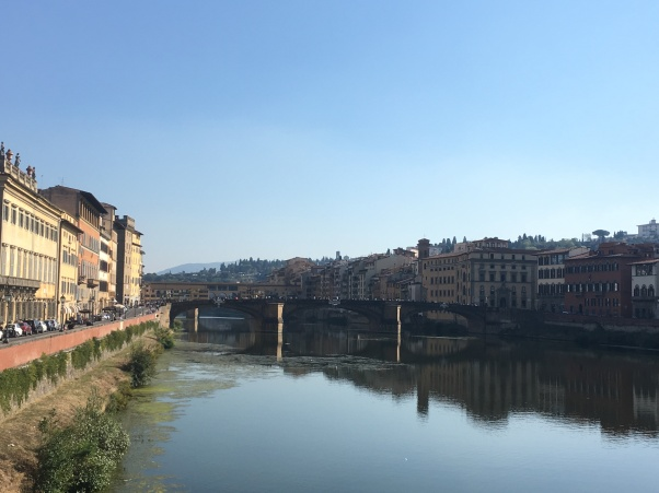 Over the Arno