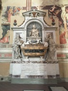 I had no idea we'd see this one. Galileo's tomb is barely marked!