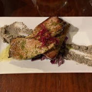 Tuna and olive paste