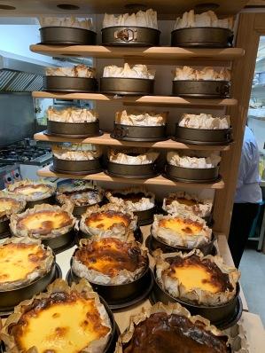 La Vina's cheesecakes: Tarte de queso